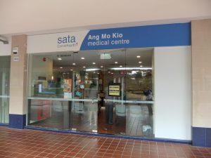 SATA CommHealth Ang Mo Kio