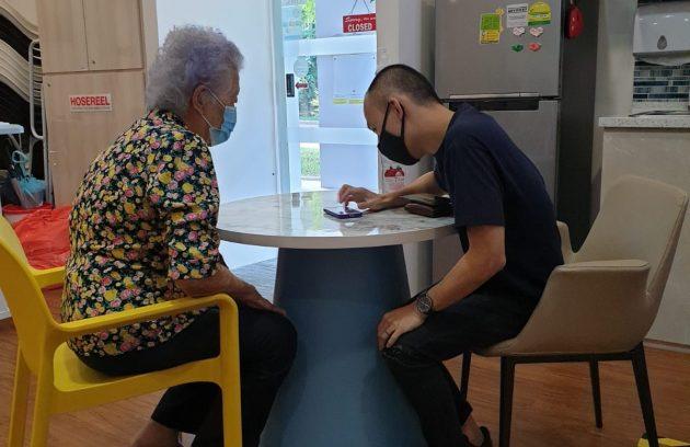 Giving seniors zoom lesson